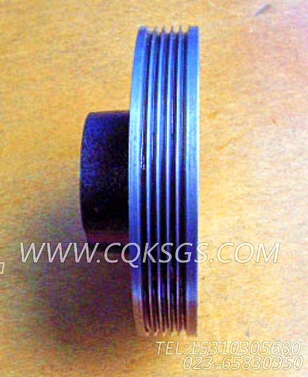 3002331发电机皮带轮,用于康明斯KTA19-M600发动机附件驱动皮带轮组,【船机】配件