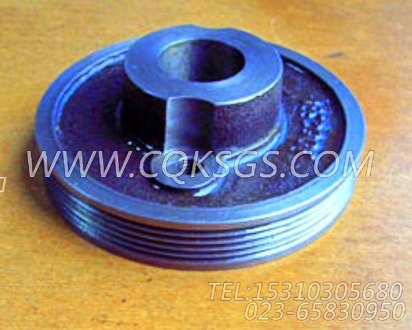 3002331发电机皮带轮,用于康明斯KTA19-M600发动机附件驱动皮带轮组,【船机】配件-1