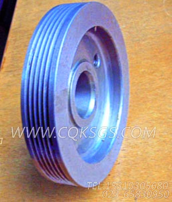 3002331发电机皮带轮,用于康明斯KTA19-M600发动机附件驱动皮带轮组,【船机】配件-2