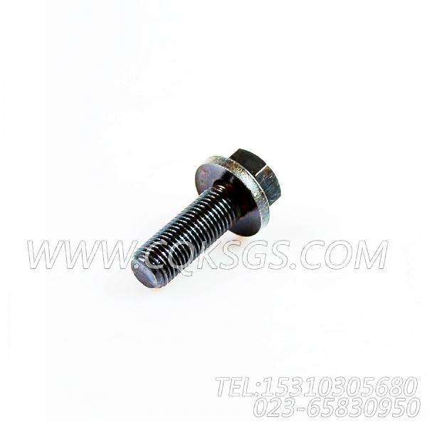 3008069带垫螺栓,用于康明斯NT855-C310柴油发动机机油盘组,【威马冷再生机】配件