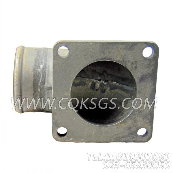 3008861水管接头,用于康明斯KTA19-P430柴油发动机热交换器组,【消防泵】配件