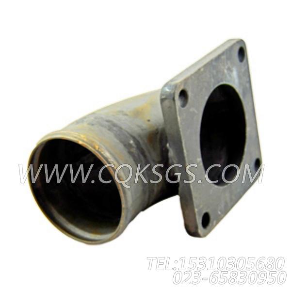 3008861水管接头,用于康明斯KTA19-P430柴油发动机热交换器组,【消防泵】配件-1