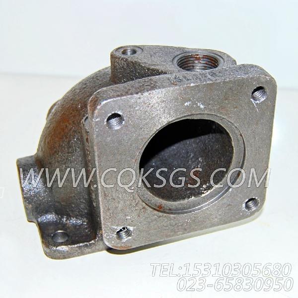 3009464节温器壳支座,用于康明斯NT855-P360柴油机出水管组,【水泵机组】配件