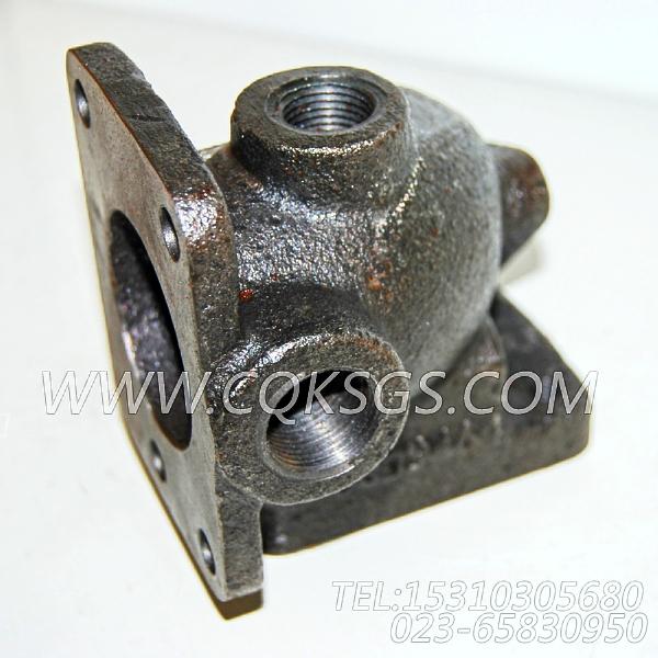 3009464节温器壳支座,用于康明斯NT855-P360柴油机出水管组,【水泵机组】配件-0