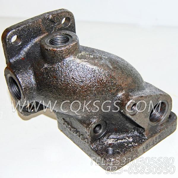 3009464节温器壳支座,用于康明斯NT855-P360柴油机出水管组,【水泵机组】配件-1