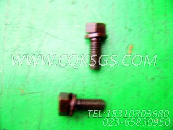 3010595带垫螺栓,用于康明斯NTA855-C360动力进水接头组,【吊管机】配件-1