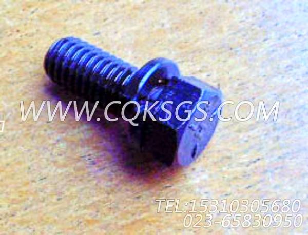 3010595带垫螺栓,用于康明斯NTA855-G2主机出水管联接组,【发电机组】配件-2