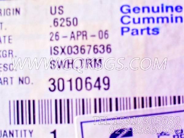 3010649水温表,用于康明斯KT19-M425发动机仪表板总成组,【船用】配件