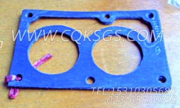 3010918节温器壳衬垫,用于康明斯KTA19-M550柴油发动机节温器.壳.支架总成组,【轮船用】配件-1