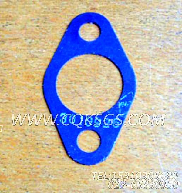 3010926法兰衬垫,用于康明斯KTA19-G2(M)柴油发动机进气管组,【抽沙船用】配件-0