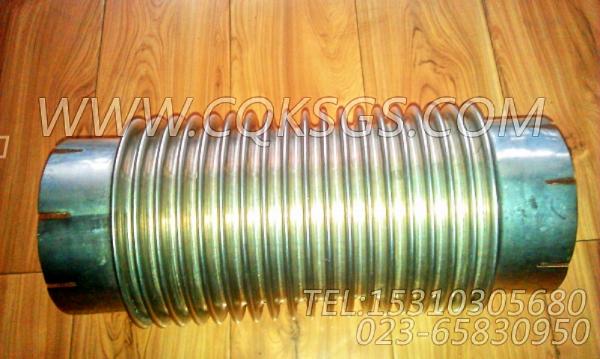 125125波纹管,用于康明斯NTA855-C360动力发动机散件组,【扫雪车】配件