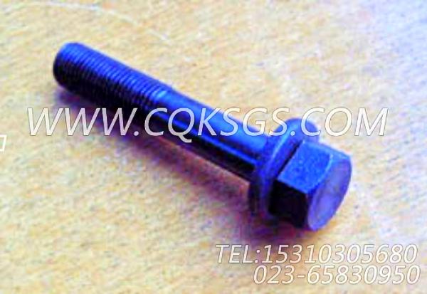 3011713带垫螺栓,用于康明斯NTA855-G2-CE170发动机发动机前支架组,【材料运输车】配件-2
