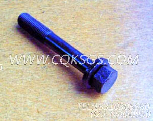 3011714带垫螺栓,用于康明斯NT855-P250主机发动机前支架组,【应急水泵机组】配件-0