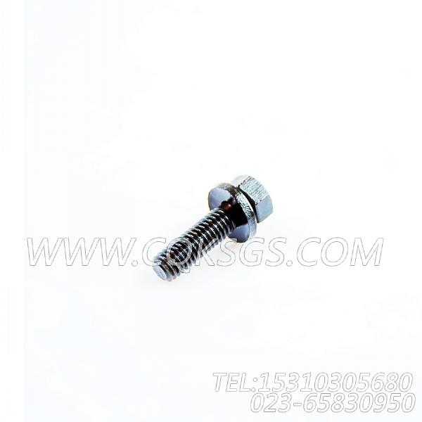 3011716带垫螺栓,用于康明斯NTA855-G1(M)-60HZ柴油机进气管组,【船用】配件-2