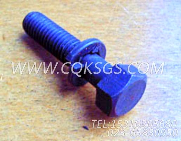 3011716带垫螺栓,用于康明斯NTC-290主机后置式进气管组,【材料运输车】配件-0