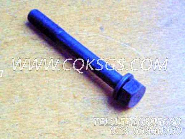 3012469带垫螺栓,用于康明斯NT855-P250动力基础件组,【泥浆泵】配件-0