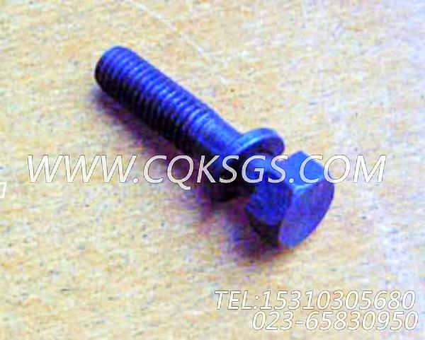 3012473带垫螺栓,用于康明斯NTA855-C310柴油机出水管组,【宝鸡南车GC220轨道车】配件-0