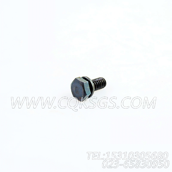 3013904带垫螺拴,用于康明斯NTA855-P360柴油发动机基础件组,【消防泵】配件-1