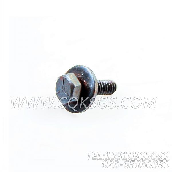 3014766带垫螺栓,用于康明斯KTA19-M500主机燃油管路组,【抽沙船用】配件