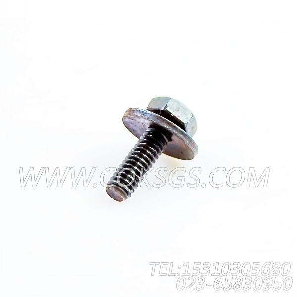 3014766带垫螺栓,用于康明斯KTA19-M500主机燃油管路组,【抽沙船用】配件-1