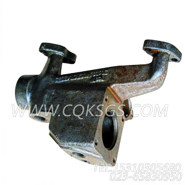 3015114前出水管,用于康明斯NTA855-C360发动机出水管组,【固井水泥车】配件-2