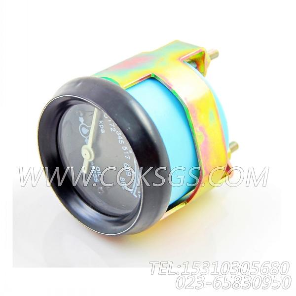 3015232油压表,用于康明斯KT38-G-550KW柴油机仪表板组,【发电用】配件-2