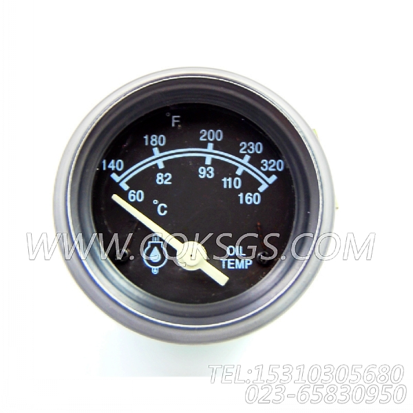3015233温度表,用于康明斯NTA855-G2柴油机仪表板组,【柴油发电】配件-1