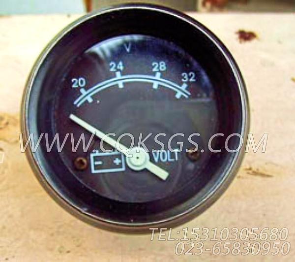 3015235电压表,用于康明斯NTA855-C400柴油机发动机散件组,【哈尔滨博威矿用自卸车】配件