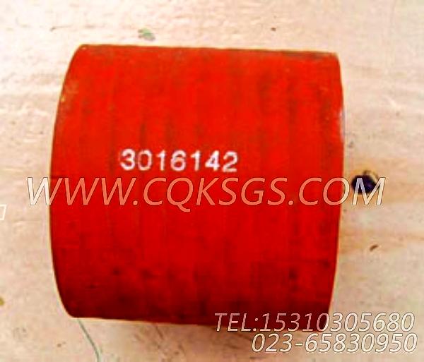 3016142普通软管,用于康明斯KTA19-G3发动机排气歧管和增压器安装组,【发电用】配件-2