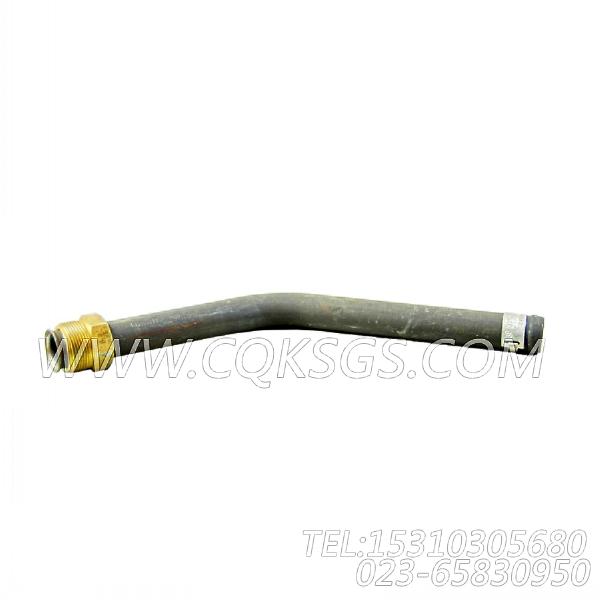 3016456增压器回油管,用于康明斯NT855-C310柴油发动机增压器安装组,【挖掘机】配件-0