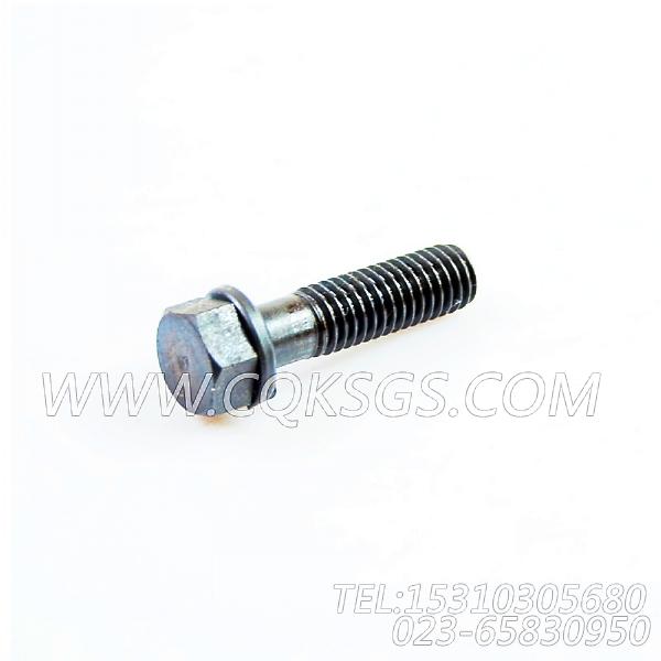 3019574带垫螺栓,用于康明斯NTA855-C360主机风扇布置组,【挖掘机】配件-1