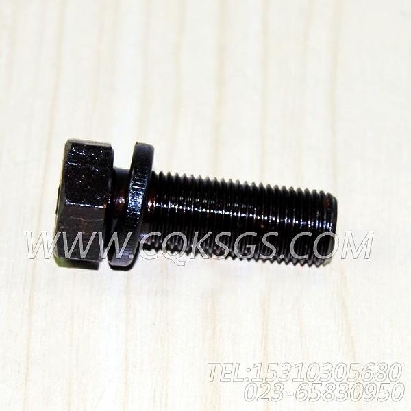 3019574带垫螺栓,用于康明斯NT855-C280动力风扇布置组,【拌和机】配件-0