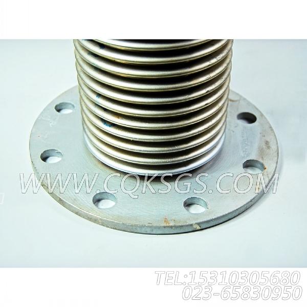 3020988排气管柔性管,用于康明斯KT19-C450发动机排气波纹管组,【洛阳一拖矿车】配件