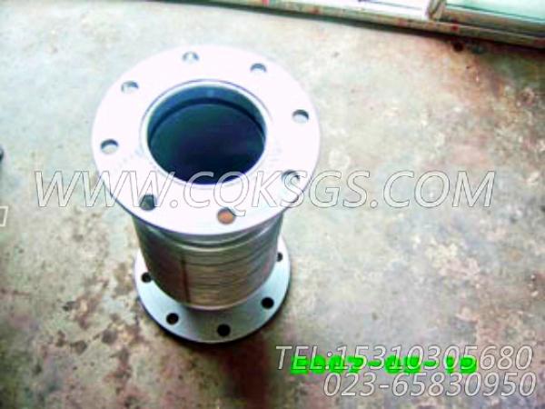 3020988排气管柔性管,用于康明斯KT19-C450发动机排气波纹管组,【洛阳一拖矿车】配件-1