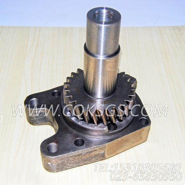3410054水泵轴,用于康明斯KTA19-G2发动机水泵组,【动力电】配件-1