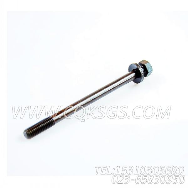 3028967带垫螺栓,用于康明斯NTCR-290主机后置式进气管组,【宣化推土机】配件-0