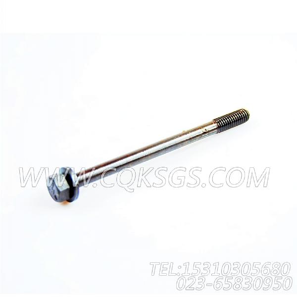 3028967带垫螺栓,用于康明斯NTCR-290主机后置式进气管组,【宣化推土机】配件-2