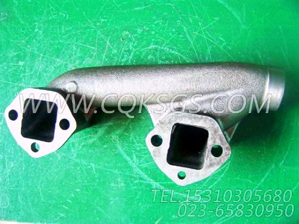 3031187排气管,用于康明斯NTA855-G2(M)60Hz柴油机排气管及安装组,【船用】配件