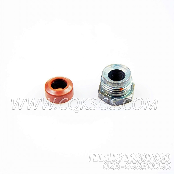 3031404油管接头,用于康明斯KTA38-C1050动力燃油歧管组,【挖掘机】配件-2