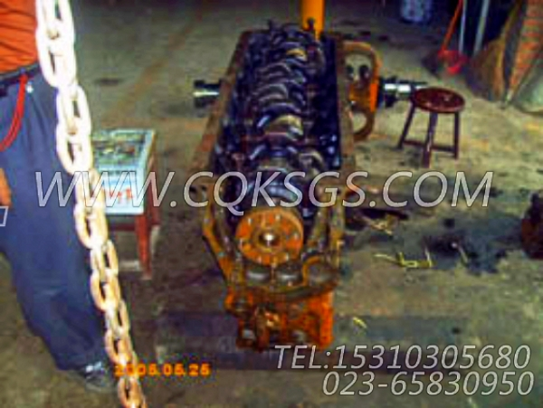 3032187气缸体,用于康明斯NTA855-P360柴油发动机基础件组,【水泵机组】配件-2