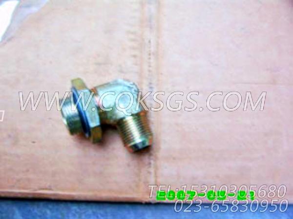 3032628阳性弯接头,用于康明斯KTA38-G5-880KW发动机燃滤器管路组,【电力】配件-1