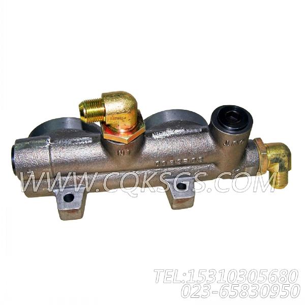 3032628阳性弯接头,用于康明斯KTA38-G5-880KW发动机燃滤器管路组,【电力】配件-0