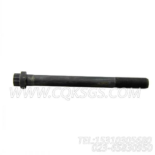 3032633十二角螺栓,用于康明斯KT38-G-550KW发动机性能件组,【动力电】配件-0