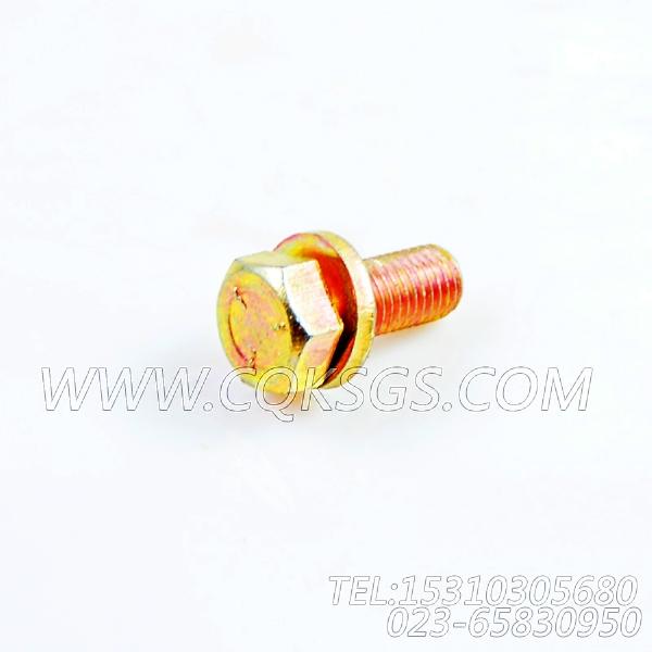 3033822带垫圈螺栓,用于康明斯KTA19-G3(M)动力基础件组,【船用主机】配件