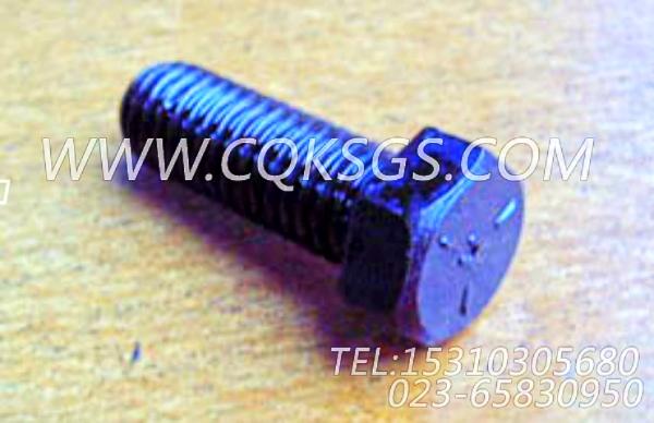 103009六角螺栓,用于康明斯KT38-G-500KW柴油发动机前齿轮室盖组,【发电机组】配件-1