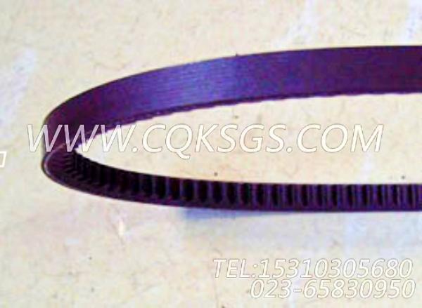 3040303多槽皮带,用于康明斯NTA855-P360主机发电机安装组,【水泵机组】配件-0