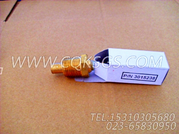 3015238温度传感器,用于康明斯NT855-C250动力油温传感器组,【供液泵车】配件