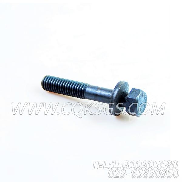 3040837带垫螺栓,用于康明斯KTA19-P430动力机油盘组,【泥浆泵】配件-1