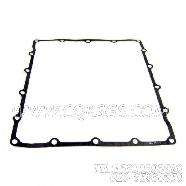 3073213机油盘联接体盖衬垫,用于康明斯KTA19-G3(M)动力机油盘组,【船舶机械】配件