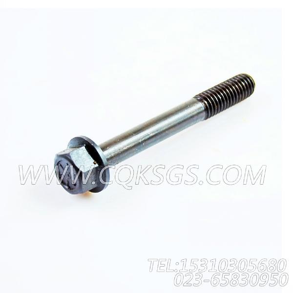 3043647六角螺栓,用于康明斯NTA855-C310发动机排气管及安装组,【江汉四机压裂车】配件-0